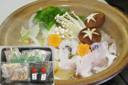 徳島 鳴門鯛の鍋
